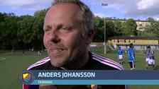Anders Johansson efter 6-0 mot Syrianska