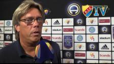 Pelle analyserar krysset mot Helsingborg