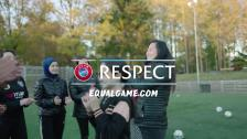 Uefa equal game sweden we care