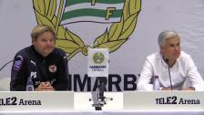 Presskonferensen efter Hammarby - Kalmar FF