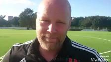 Staffan Jacobsson inför matchen mot Älvsjö AIK FF