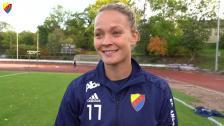 Evelina Finndell inför Eskilstuna