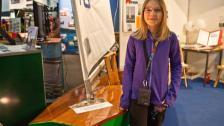 Tioåriga båtbyggerskan och klockan som styr båten