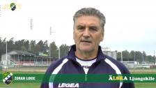 Zoran Lukic inför den oerhört viktiga matchen mot Ängelholm på söndag