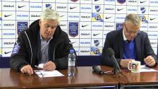 Presskonferensen efter IFK Norrköping - Hammarby