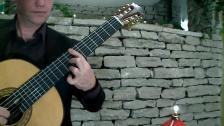 Krister Dahlström, en viritlus på klassisk gitarr