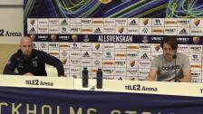 Presskonferensen efter Djurgården - Sirius