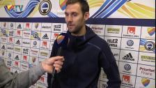 Andreas Isaksson om matchen och Kims debut