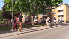 Samhällsmatchens trivselvandring i Vårberg