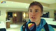 Spelarintervjuer efter matchen mot Spartak