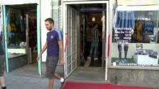 DIF-butiken här slagit upp dörrarna