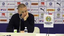 Presskonferensen efter hemmasegern över IFK Norrköping