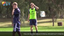 Tim Björkström om första tiden i Djurgården