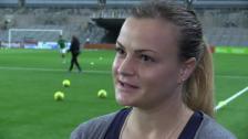 Milica laddad inför helgen - Årets viktigaste match - har en bra känsla
