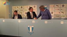 Presskonferensen efter Malmö FF - Djurgården