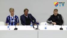 Presskonferensen efter BP-DIF