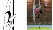 F69 BACK ELBOW VERTICAL SPLIT 0.9 by ALESSANDRA RANCAN POLE SPORTS