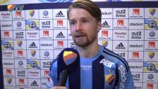 Jacob Une Larsson om Norrköping, backlinjen och Haris