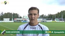 Intervju med Oliver Gustafsson, målvakt i LSK