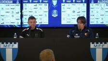Presskonferens efter Djurgården