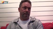 Henrik Berggren informerar om senaste styrelsemötet