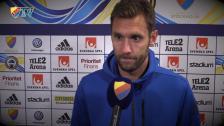 Andreas Isaksson tvingades kliva av på uppvärmingen