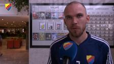 Kapten Danielson om lägret och matchen mot Kristansund