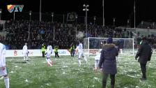 Snöbollskriget efter matchen mot Sundsvall