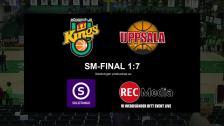 SM-Final 1 - Södertälje Kings vs. Uppsala Basket - 19 Apr 17:52